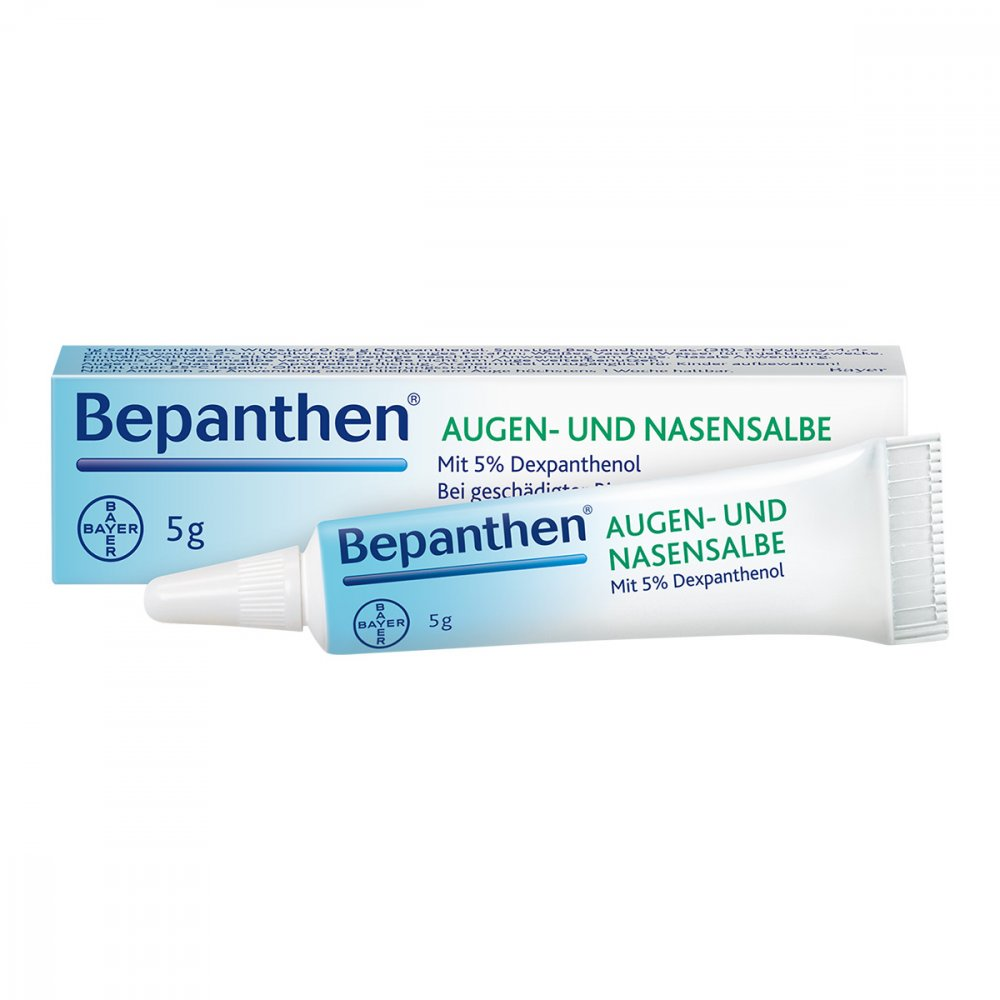 Bayer Vital GmbH Bepanthen Augen- und Nasensalbe 5 g 01578681