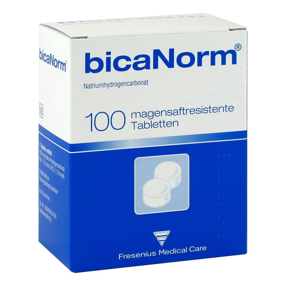 Fresenius Medical Care Dtl. Gm Bicanorm magensaftresistente Tabletten 100 stk 01654873