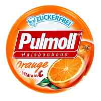 Pulmoll Hustenbonbons Orange + Vitamine c zf.
