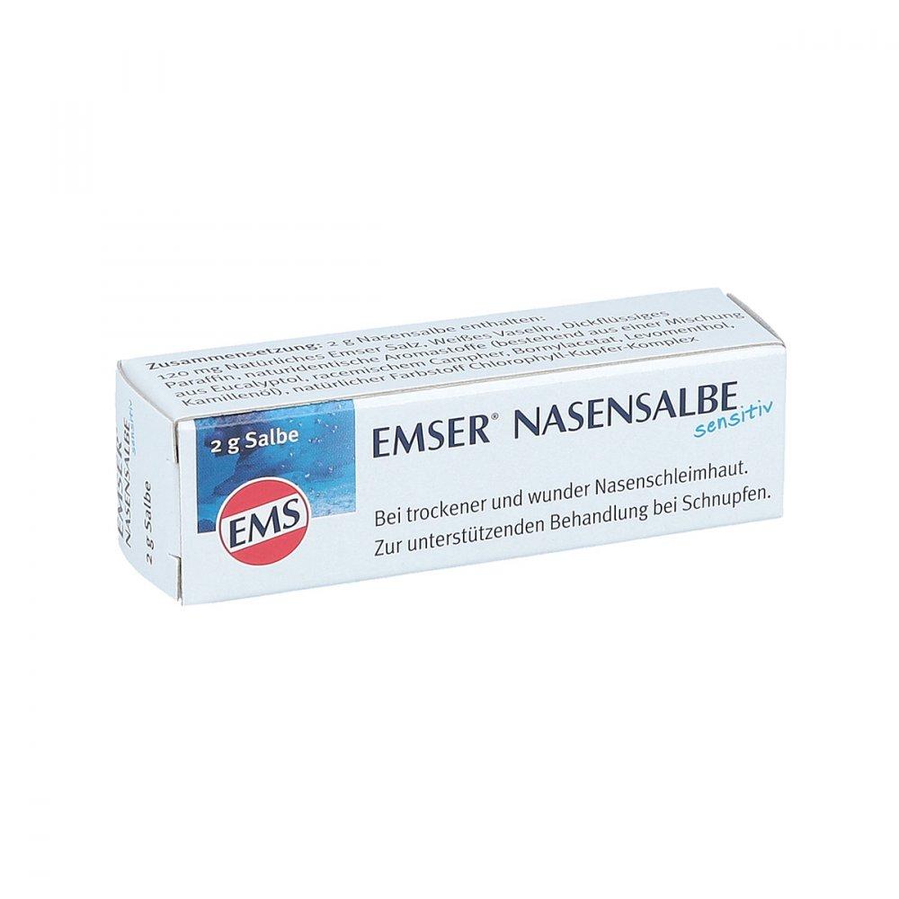 SIEMENS & Co GmbH & Co. KG Emser Nasensalbe Sensitiv 2 g 03843495