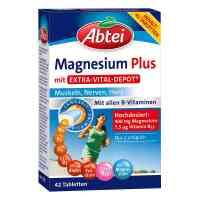 Abtei Magnesium Plus mit Extra Vital Depot Tablett