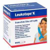 Leukotape K 5cm hellblau
