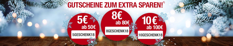 Gutschein Weihnachten Extra Sparen Aktion