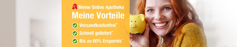 Ihre Online-Apotheke, Ihre Vorteile - Ersparnis, Schnelle Lieferung
