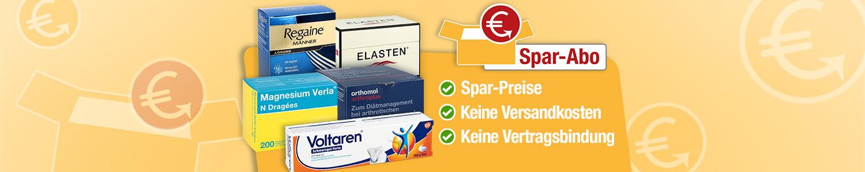 Medikamente im Spar-Abo bei apo-discounter.de