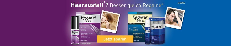 Regaine für Männer und Frauen - jetzt günstig online kaufen!