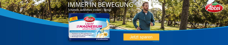 Jetzt Abtei Liquid Magnesium günstig online kaufen!