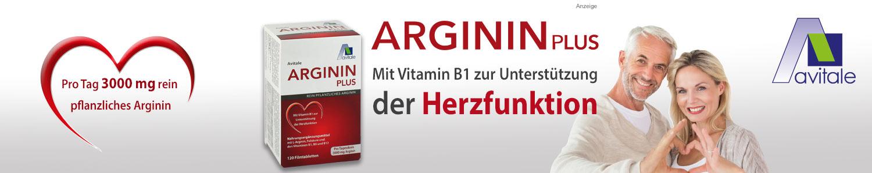 Jetzt Arginin PLUS Vitamin B1+B6+B12+Folsäure günstig online kaufen!