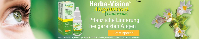 Jetzt Herba-Vision Augentrost Augentropfen günstig online kaufen!