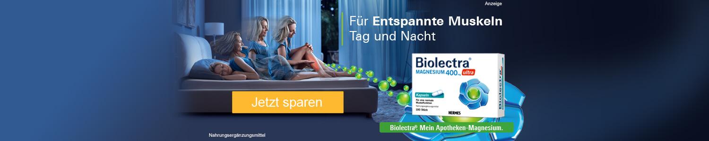 Jetzt Biolectra Magnesium günstig online kaufen!