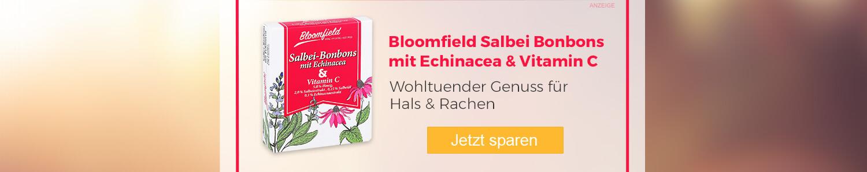 Jetzt Bloomfield Salbei-Bonbons mit Echinacea  günstig online kaufen!