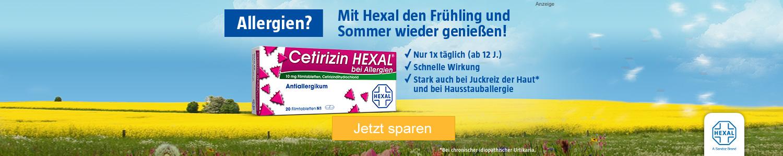 Jetzt Cetirizin HEXAL günstig online kaufen!