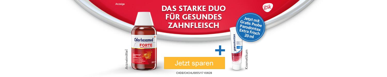 Jetzt Chlorhexamed forte günstig online kaufen!