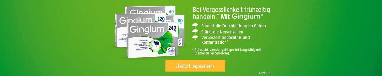 Jetzt Gingium günstig online kaufen!