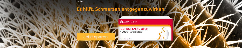 Jetzt Ibuprofen AL akut günstig online kaufen!