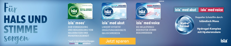Jetzt Isla Halspastillen günstig online kaufen!