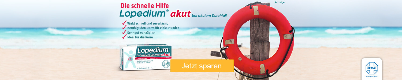 Jetzt Lopedium akut günstig online kaufen!