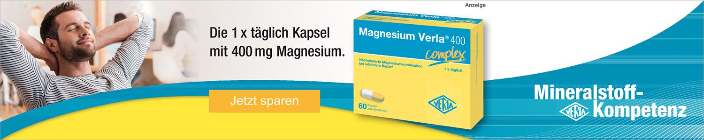 Jetzt Magnesium 400 von Verla günstig online kaufen!