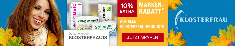 Jetzt Klosterfrau-Produkte günstig online kaufen!