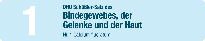 DHU Schüßler Salze 1