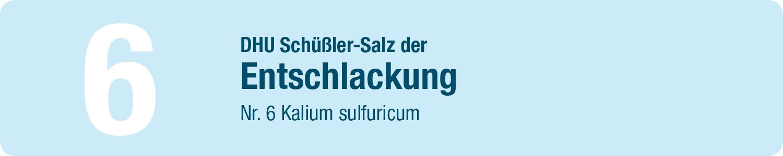 DHU Schüßler Salze 6
