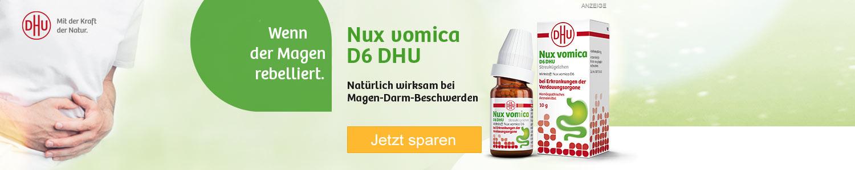 Jetzt Nux Vomica D6 DHU günstig online kaufen!