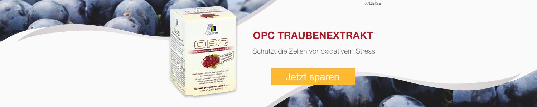 Jetzt OPC Traubenkern Kapseln günstig online kaufen!