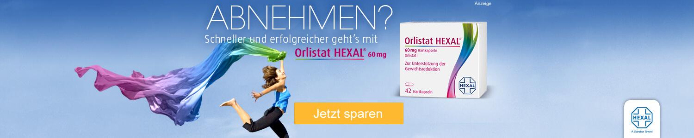 Jetzt Orlistat HEXAL 60 mg günstig online kaufen!