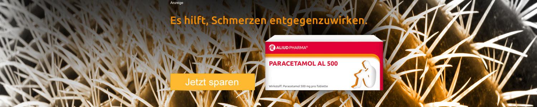 Jetzt Paracetamol AL 500 günstig online kaufen!