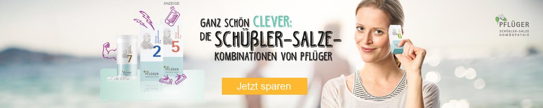 Jetzt Pflüger Schüßler Salze Kombinationen günstig online kaufen!