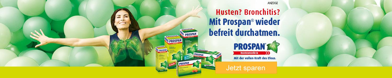 Jetzt Prospan Hustenmedizin günstig online kaufen!