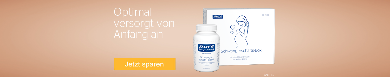 Jetzt Pure Schwangerschaftsprodukte günstig online kaufen!