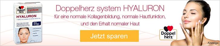 Doppelherz system Hyaluron günstig kaufen