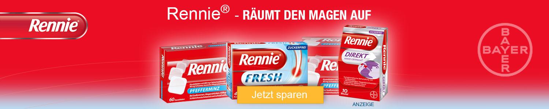 Jetzt Rennie-Produkte günstig online kaufen!