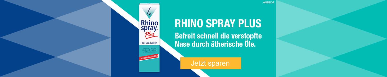 Jetzt Rhinospray plus günstig online kaufen!