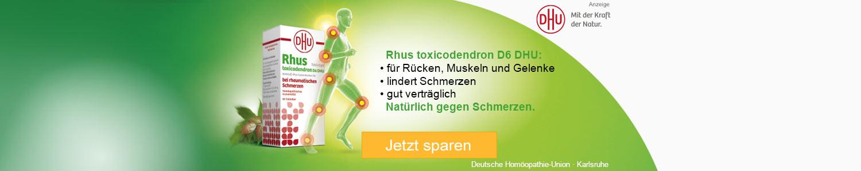 Jetzt Rhus Toxicodendron D6 DHU günstig online kaufen!