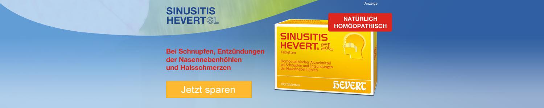 Sinusitis Hevert SL jetzt günstig online kaufen!