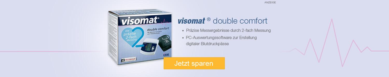 Jetzt Visomat double comfort Oberarm Blutdruckmessger günstig online kaufen!