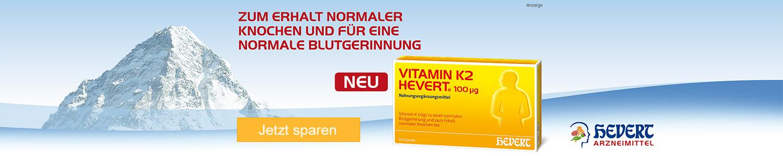Jetzt Vitamin K2 Hevert 100 g günstig online kaufen!