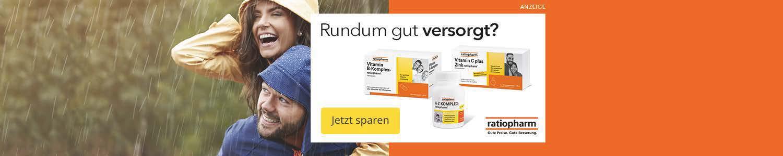 Jetzt Ratiopharm Produkte günstig kaufen!