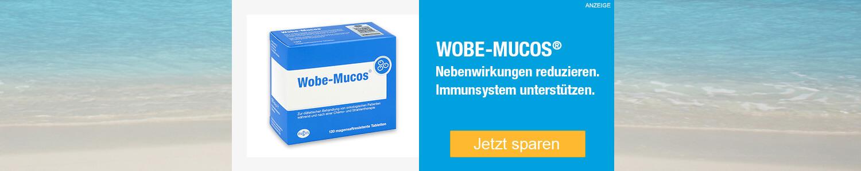 Jetzt Wobe-Mucos magensaftresistente Tabletten günstig online kaufen!