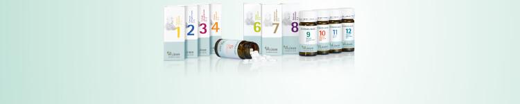 Schüßler-Salze Basissalze 1-12