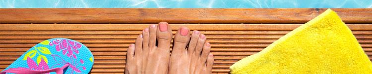 Sommerschöne Füße