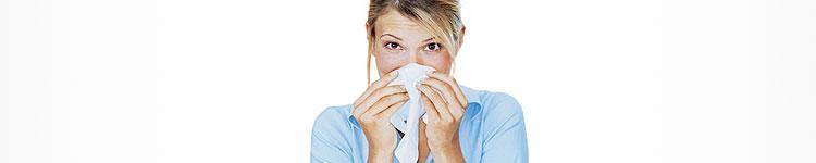 Produkte bei Allergie-Beschwerden