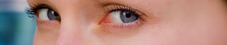 Gereizte Augen