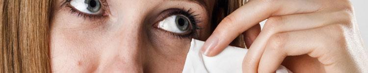 Allergische Augen