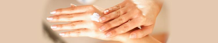 Gesunde/beanspruchte Haut