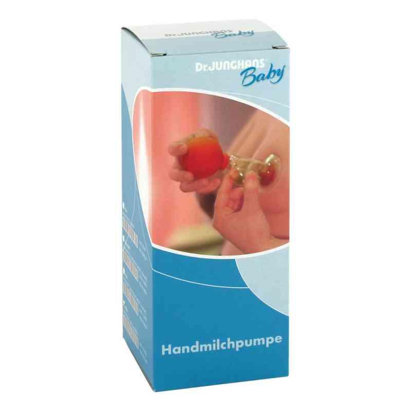 Milchpumpe Hand Kunststoffball mit Glas  bei apo-discounter.de bestellen