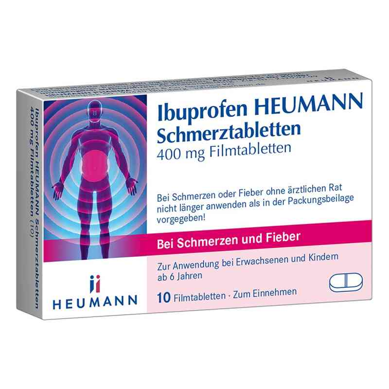 Ibuprofen Heumann Schmerztabletten 400mg  bei apo-discounter.de bestellen