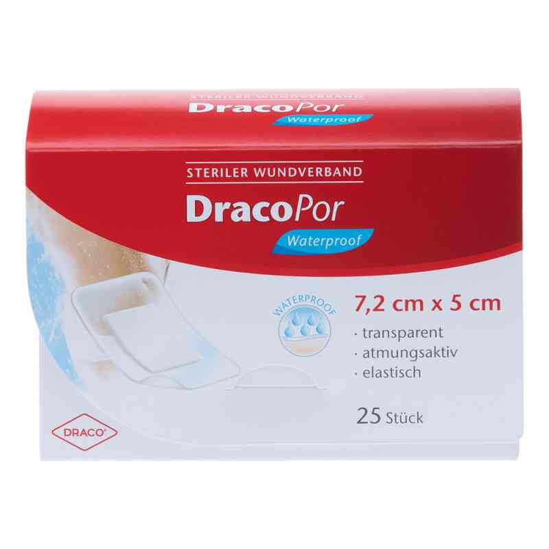 Dracopor waterproof Wundverband steril 5x7,2cm  bei apo-discounter.de bestellen